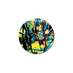 Dance Of Oil Towers 3 Golf Ball Marker (10 Pack)