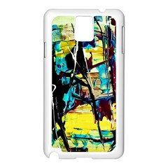 Dance Of Oil Towers 3 Samsung Galaxy Note 3 N9005 Case (white)
