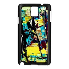Dance Of Oil Towers 3 Samsung Galaxy Note 3 N9005 Case (black)