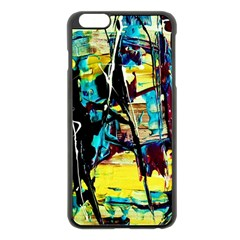 Dance Of Oil Towers 3 Apple Iphone 6 Plus/6s Plus Black Enamel Case