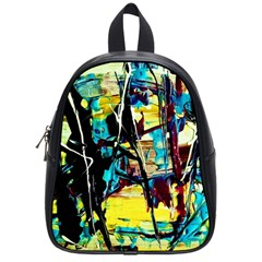 Dance Of Oil Towers 3 School Bag (small)