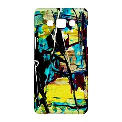 Dance Of Oil Towers 3 Samsung Galaxy A5 Hardshell Case
