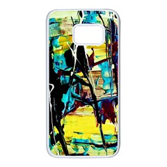 Dance Of Oil Towers 3 Samsung Galaxy S7 White Seamless Case by bestdesignintheworld