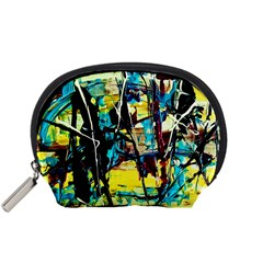 Dance Of Oil Towers 3 Accessory Pouches (small)