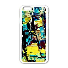 Dance Of Oil Towers 3 Apple Iphone 6/6s White Enamel Case