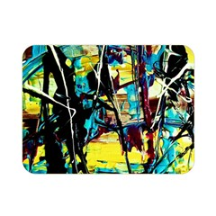 Dance Of Oil Towers 3 Double Sided Flano Blanket (mini)