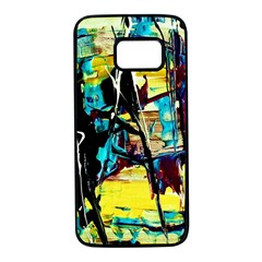 Dance Of Oil Towers 3 Samsung Galaxy S7 Black Seamless Case
