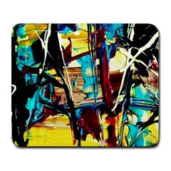 Dance Of Oil Towers 4 Large Mousepads