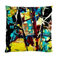 Dance Of Oil Towers 4 Standard Cushion Case (two Sides)