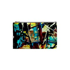 Dance Of Oil Towers 4 Cosmetic Bag (small)