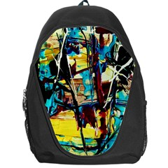 Dance Of Oil Towers 4 Backpack Bag by bestdesignintheworld