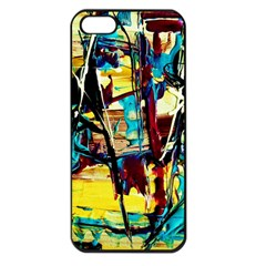 Dance Of Oil Towers 4 Apple Iphone 5 Seamless Case (black) by bestdesignintheworld