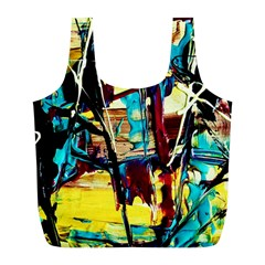Dance Of Oil Towers 4 Full Print Recycle Bags (l)  by bestdesignintheworld