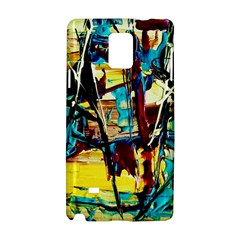 Dance Of Oil Towers 4 Samsung Galaxy Note 4 Hardshell Case by bestdesignintheworld