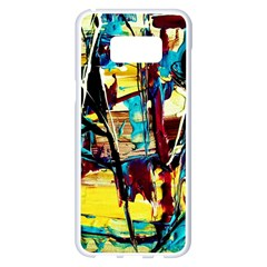 Dance Of Oil Towers 4 Samsung Galaxy S8 Plus White Seamless Case by bestdesignintheworld