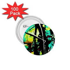 Dance Of Oil Towers 5 1 75  Buttons (100 Pack)