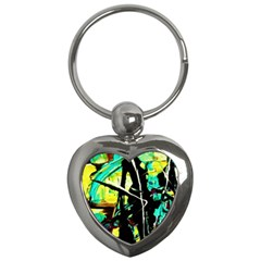 Dance Of Oil Towers 5 Key Chains (heart)
