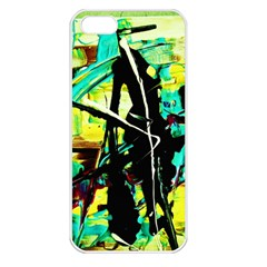 Dance Of Oil Towers 5 Apple Iphone 5 Seamless Case (white)