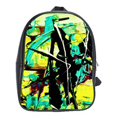 Dance Of Oil Towers 5 School Bag (xl)