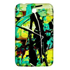 Dance Of Oil Towers 5 Samsung Galaxy Tab 3 (7 ) P3200 Hardshell Case