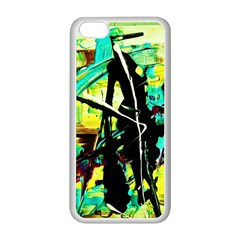 Dance Of Oil Towers 5 Apple Iphone 5c Seamless Case (white) by bestdesignintheworld