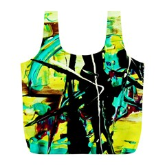Dance Of Oil Towers 5 Full Print Recycle Bags (l)  by bestdesignintheworld