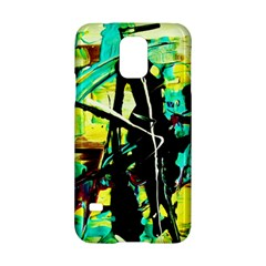Dance Of Oil Towers 5 Samsung Galaxy S5 Hardshell Case