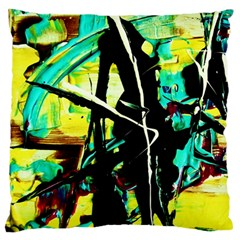 Dance Of Oil Towers 5 Large Flano Cushion Case (one Side)