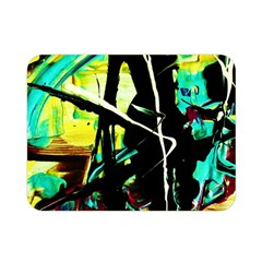 Dance Of Oil Towers 5 Double Sided Flano Blanket (mini)  by bestdesignintheworld