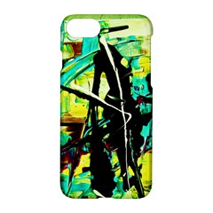 Dance Of Oil Towers 5 Apple Iphone 7 Hardshell Case by bestdesignintheworld