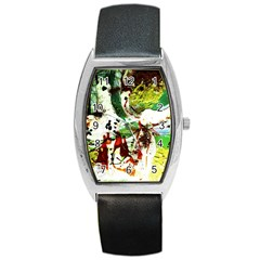 Doves Matchmaking 12 Barrel Style Metal Watch