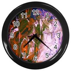 Close To Pinky,s House 12 Wall Clocks (black)