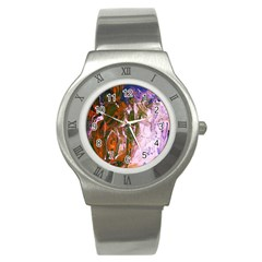 Close To Pinky,s House 12 Stainless Steel Watch