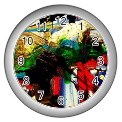 Catalina Island Not So Far 6 Wall Clocks (silver)