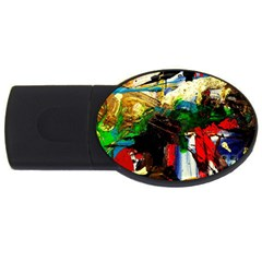 Catalina Island Not So Far 6 Usb Flash Drive Oval (4 Gb) by bestdesignintheworld