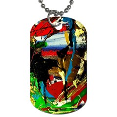 Catalina Island Not So Far 7 Dog Tag (one Side) by bestdesignintheworld