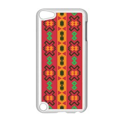 Tribal Shapes In Retro Colors                           Apple Ipod Touch 5 Case (black)