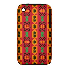 Tribal Shapes In Retro Colors                           Apple Ipod Touch 5 Case (white) by LalyLauraFLM