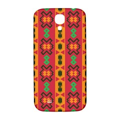 Tribal Shapes In Retro Colors                           Samsung Note 2 N7100 Hardshell Back Case
