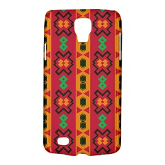 Tribal Shapes In Retro Colors                           Samsung Galaxy Ace 3 S7272 Hardshell Case by LalyLauraFLM