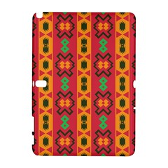 Tribal Shapes In Retro Colors                           Htc Desire 601 Hardshell Case by LalyLauraFLM