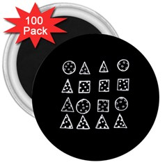 Drawing  3  Magnets (100 Pack)