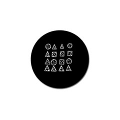 Drawing  Golf Ball Marker (10 Pack)