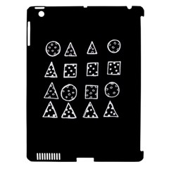 Drawing  Apple Ipad 3/4 Hardshell Case (compatible With Smart Cover)