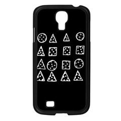 Drawing  Samsung Galaxy S4 I9500/ I9505 Case (black)