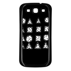 Drawing  Samsung Galaxy S3 Back Case (black)
