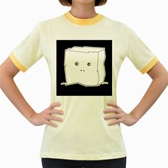 Drawing  Women s Fitted Ringer T Shirts