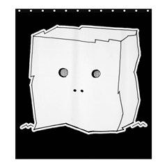Drawing  Shower Curtain 66  X 72  (large)