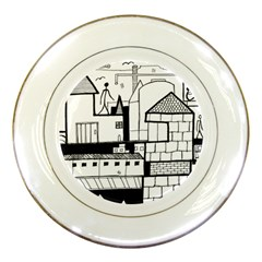 Drawing  Porcelain Plates