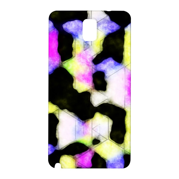 Watercolors shapes on a black background                            Samsung Galaxy Note 10.1 (P600) Hardshell Case